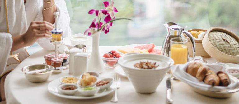 in room breakfast